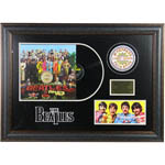 The Beatles Sgt. Peppers Lonely Hearts Club Band Album Cover 26x38 Framed Collage