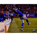 Odell Beckham Jr. Signed Close Up One-Handed Touchdown Catch 11x14 Photo