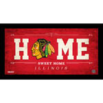 Chicago Blackhawks 10x20 Home Sweet Home Sign