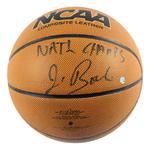 Jim Boeheim Signed NCAA Basketball w/ 'NATL CHAMPS' Insc
