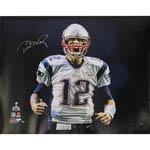 Tom Brady Signed Scream 37x45 Canvas (LE/49)