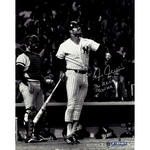 Chris Chambliss Signed 'Watching Home Run' Signed 16x20 Photo w/'76 ALCS GW. HR' Insc. (MLB Auth)
