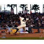 Johnny Cueto Signed Giants Home Pitching 16x20 Photo