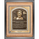 Bob Feller 11x14 Framed Baseball Hall of Fame Plaque