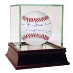 "Jerry Grote Signed MLB Baseball w/ ""I caught all 4. Ryan, Seaver, Koosman, Gentry"" Insc"