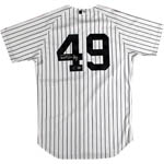 Ron Guidry Authentic Yankees Pinstripe Jersey (Signed on Back) (MLB Auth)
