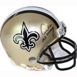 Archie Manning Saints Replica Mini Helmet