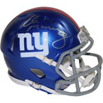 Eli Manning Signed New York Giants Speed Mini Helmet