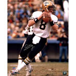 Archie Manning Signed New Orleans Saints White Jersey Vertical 16x20 Photo (Signed in Silver)