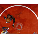 Chris Paul Signed Shoots Vs. Warriors 16x20 Photograph