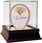 Andy Pettitte Signed 2009 WS Baseball