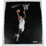 Paul Pierce Brooklyn Nets Lay Up 22x26 Canvas Stretched and