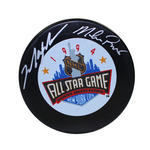 Mark Messier/ Mike Richter Dual Signed 1994 All Star Hockey Puck
