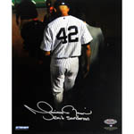 "Mariano Rivera Final Exit At Yankee Stadium Signed 8x10 Photo w/""Exit Sandman"" Insc"