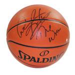 Dennis Rodman Signed I/O basketball w/ 'Worm' insc. (Signed in Black)