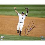 Alex Rodriguez Signed 2009 WS Arms Raised Celebration Horizontal 8x10 Photo (MLB Auth)