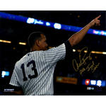Alex Rodriguez Signed 'Pointing From Final Game' 16x20 Photo w/ '2016, Final Season' Insc