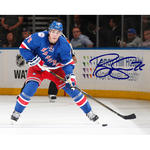 Brady Skjei Signed Skating With Puck 8x10 Photo