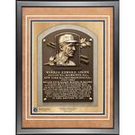 Warren Spahn 11x14 Framed Baseball Hall of Fame Plaque