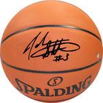 John Starks Signed I/O Basketball
