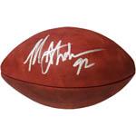 Michael Strahan Signed NFL Duke Football