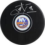 John Tavares Signed New York Islanders Puck (Frameworth & SSM)