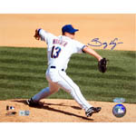Billy Wagner New York Mets Home Pitch Horizontal  8x10 Photo