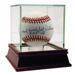 Dick Williams Signed Full Name Baseball with HOF 08 Inscription (JSA)