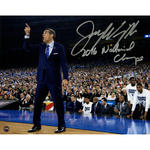 Jay Wright Signed Sideline Point 2016 National Championship Game 8x10 Photo w/ '2016 National Champs' Insc