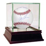 Dwight Gooden/Mel Stottlemyre Dual Signed MLB Baseball w/ ' 1 of the Best' Insc. by Mel Stottlemyre (MLB Auth)