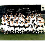 1978 New York Yankees Multi-Signed 16x20 'Finger' Team Photo Gossage/Guidry/Piniella/Dent 'The Bronx Zoo'/Gamble/May/Werth