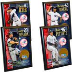 New York Yankees Core 4 Ultimate Fan Gift Set – Jeter, Rivera, Posada, Pettitte Certified Authentic Field Dirt Plaques