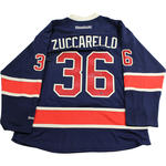 Mats Zuccarello Signed New York Rangers Navy Heritage Premier Jersey