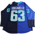 Mats Zuccarello Signed 2016 Team Europe World Cup Jersey